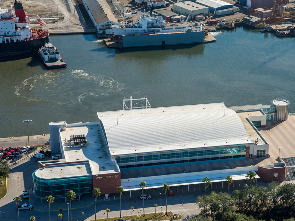 Port Tampa Bay Cruise Terminal 3 Roof Replacement