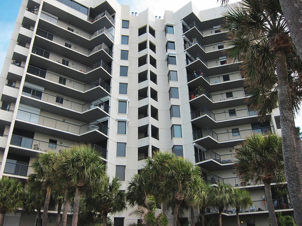 Dan's Island Condominiums – Weatherproofing