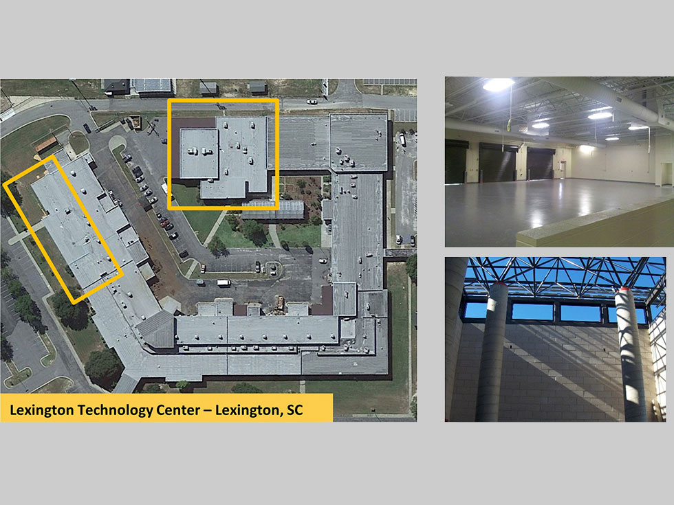 *Lexington Technology Center Additions and Renovations and Renovations  (*Staff Experience with Other Firms)