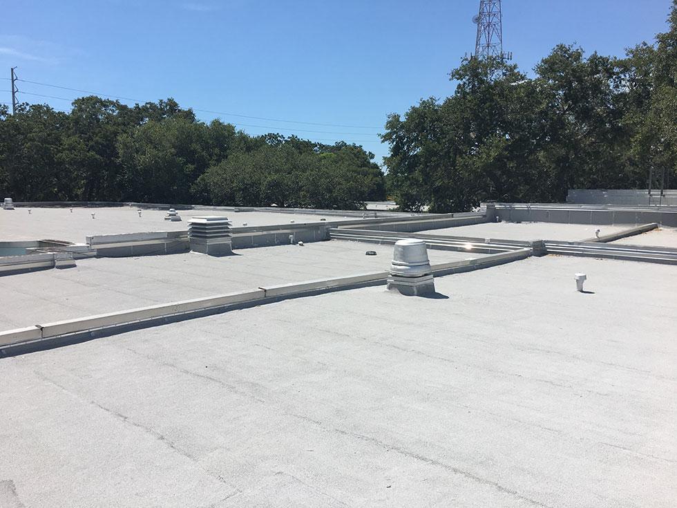 Roof Coatings at Calvin Hunsinger School
