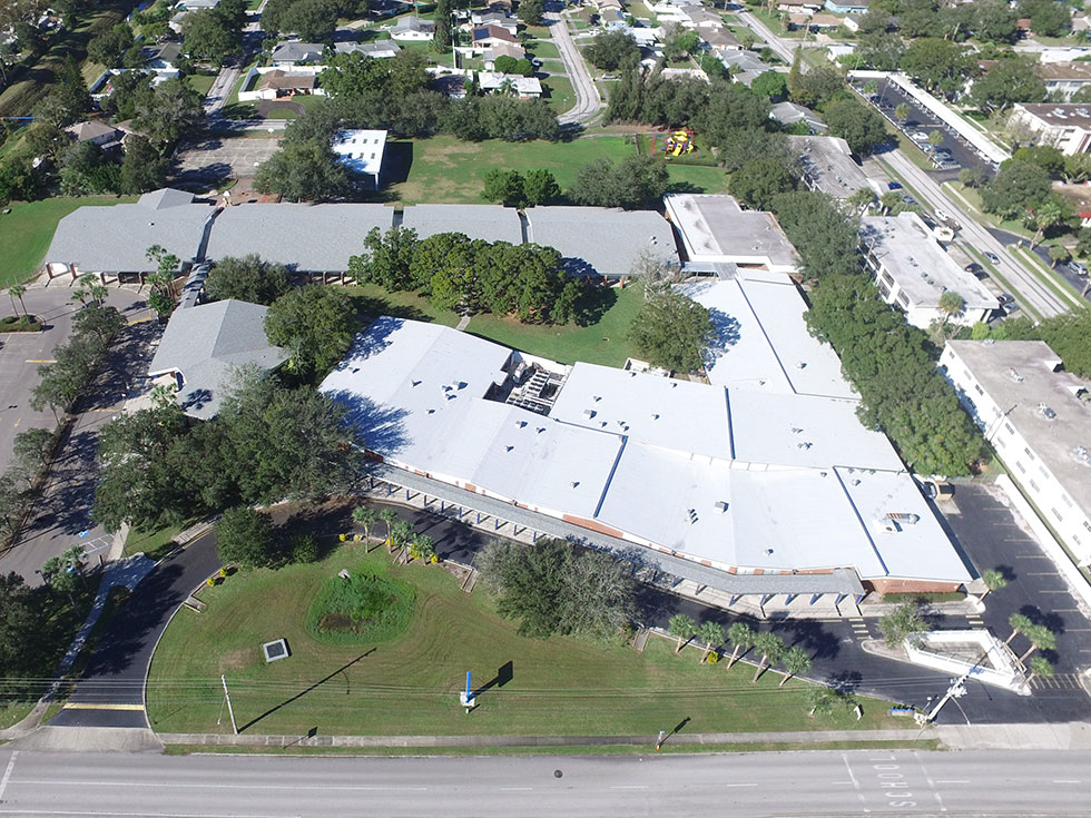 Roofing at Westgate Elementary School