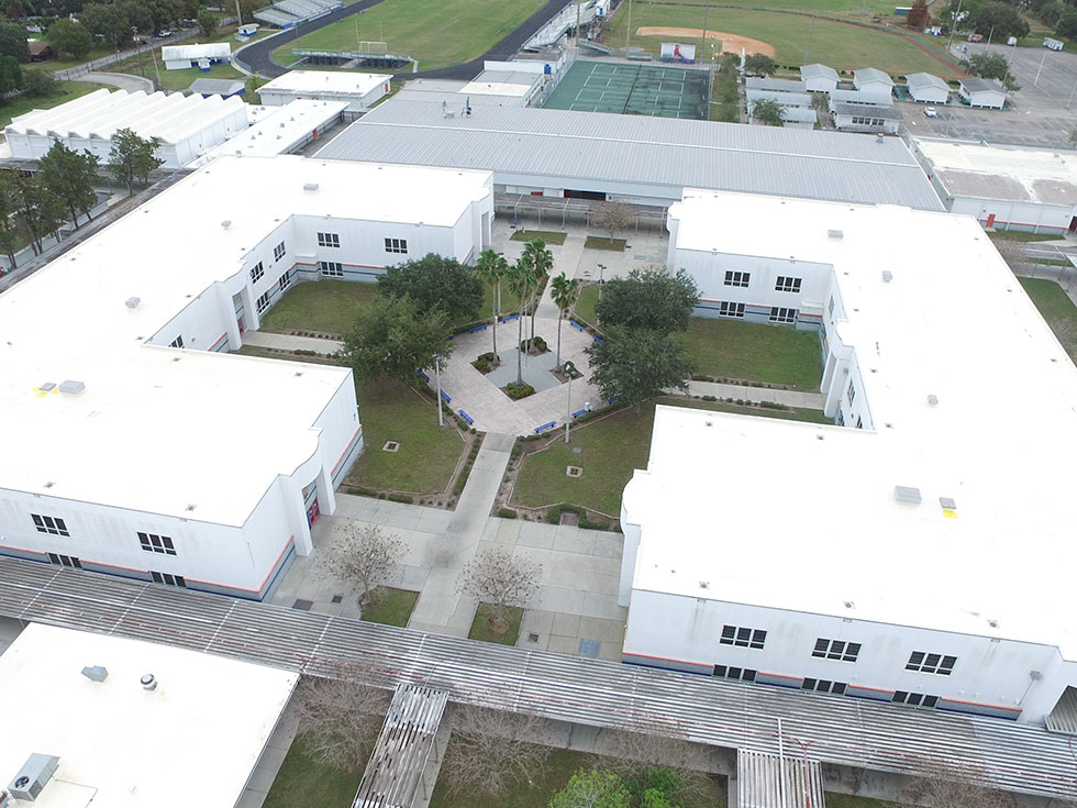 Single Ply Roofing at Southeast High School