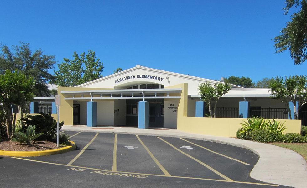 Alta Vista Elementary School – Painting & Weatherproofing