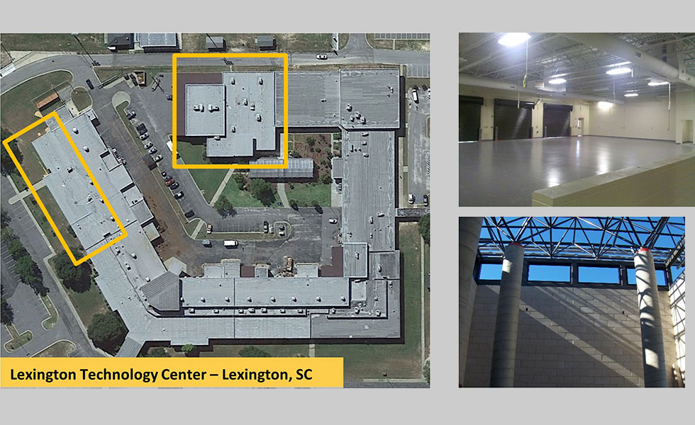 *Lexington Technology Center Additions and Renovations