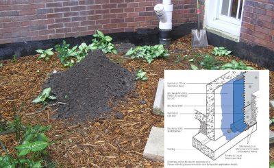 Wilson Middle School Below Grade / Floor Waterproofing