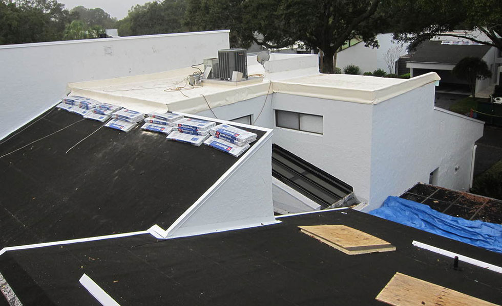 Shingles and Single Ply Roofing